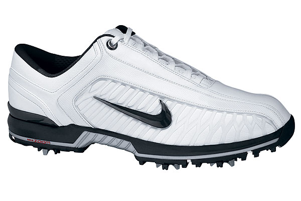 "Air Zoom Elite II                           nikegolf.com, $155                           The updated version of this shoe is now 8mm lower in the forefoot, thanks to an ""encapsulated Zoom Air unit,"" which is designed to improve stability without sacrificing cushioning. A lateral support system should also help golfers maintain their balance. Comes with a two-year waterproof guarantee."