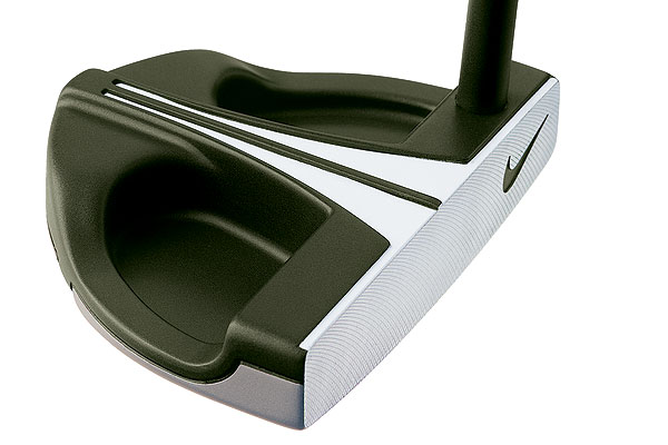 Nike IC 20-15 Mid Mallet                       $170                       nikegolf.com                                              Leave it to Nike to make a putter that strays from the common chrome or black. The new IC putters are forest green, a color Nike chose after studying golfers' eyes. The rounded edges of the green putter head blend into the putting surface, which makes the white alignment aid pop. By making the alignment aid the focus, Nike hopes to help you square the face and start your putts on line. The face of the putter is milled 303 stainless steel for softness, and Tungsten weights behind the heel and toe help increase the moment of inertia for added stability on off-center hits.
