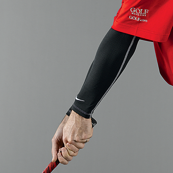 Nike Golf sleeves                        niketown.com, $25                       Sleeveless jackets, make room for jacketless sleeves. These moisture-wicking thermal sleeves roll up and over your arms like sausage casings to provide warmth without the                        bulk of a jacket. Stuff these compact arm warmers in your bag the next time you play and you'll be armed and ready for even the most unexpected cold front.