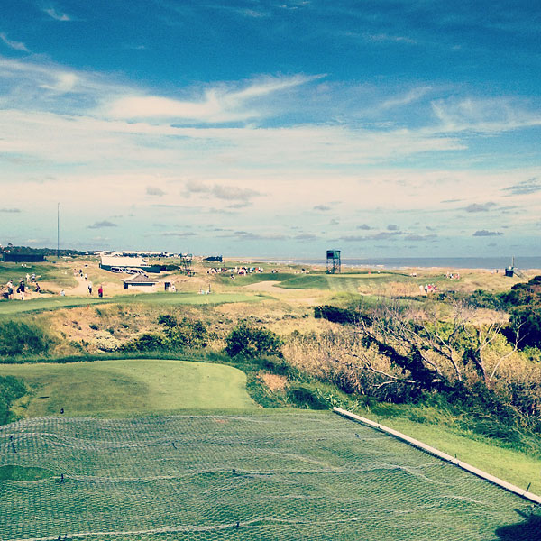 No.14, par 3 at the Ocean Course.