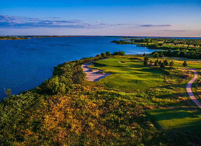 The Old American Club in The Colony, Tex.: As far as old American traditions go, nothing beats Thanksgiving, so we celebrate this Tripp Davis/Justin Leonard creation north of Dallas that sports a collection of handsome, strategic, retro-feeling holes that overlook 23,000-acre Lake Lewisville.