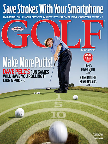 NOVEMBER The issue featured an excerpt from Dave Pelz's new book, Putting Games.