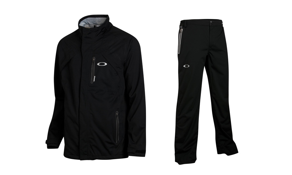 If the weather at Royal Lytham and St. Annes gets nasty, our style guru, Woody Hochswender says you should look for Rory McIlroy to slip into Oakley's Defend rain jacket ($350) and Defend rain pants ($225). They are very quiet despite being waterproof proof and both pieces stretch, offer breathability, dry quickly, and have reflectivity elements.The weather at Royal Lytham and St. Annes has been fairly benign by Open Championship standards, but that doesn't mean the pros aren't prepared for the worst. If it rains, look for Rory McIlroy to slip into Oakley's Defend rain jacket ($350) and Defend rain pants ($225). They are very quiet despite being waterproof proof and both pieces stretch, offer breathability, dry quickly, and have reflectivity elements.