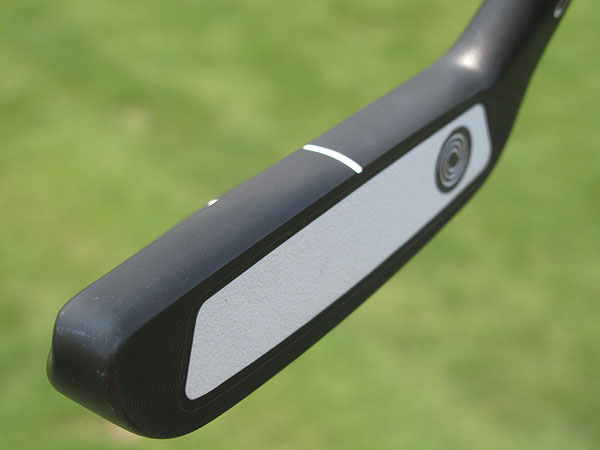 Phil Mickelson uses an Odyssey PT-82 Pro Type putter just like this one, except his is made for a left-hander.