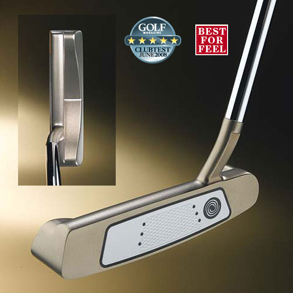 "Odyssey White Hot Tour #2                           $149                           odysseygolf.com                                                      WE TESTED                           34"" and 35"" in steel shaft                                                      COMPANY LINE                           ""Weight ports in the sole allow us to precisely control head mass for consistency, control and performance.                           The two-piece insert —elastomer core and firm outer striking surface infused with urethane —has a firmer feel for feedback and responsiveness.""                                                      Our Test Panel Says ...                           Pros: Terrific combination of feel, feedback and forgiveness; a pleasure for controlling distance; testers find it delivers the most consistent output in the test; firm insert asserts itself; works equally well with a pendulum or ""swinging door"" stroke; good directional control — a wide area of forgiveness allows you to be less than precise; bronze finish reduces glare.                                                      Cons: Bright white face insert stands out, maybe too much, against the otherwise understated look; on longer putts, you might need a bigger stroke than with other putters to get desired distance.                                                      ""Quite an appealing look with the sensitivity and performance to match."" — Rich Bernstein (12)"