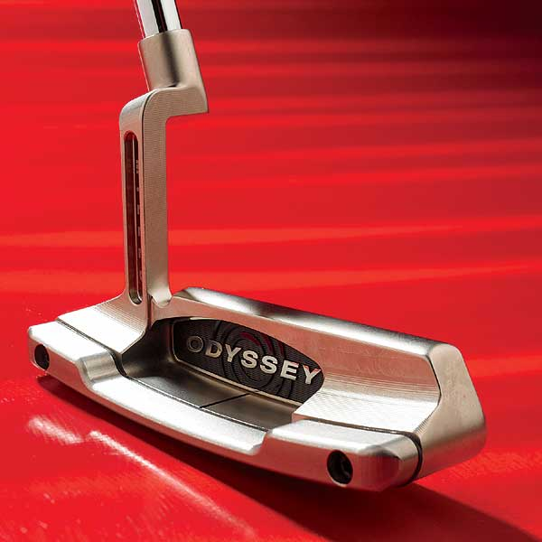 "May 2007: Putters                           Winner: Odyssey Black Series #1                           $249; odysseygolf.com                           Video | Equipment Finder Profile                                                                                                            WE TESTED: 34"", 35""                           COMPANY LINE: ""Nickel-plated head milled from 1025 carbon steel. Tungsten flange yields a low, deep CG. Designed with 'loft optimization' to produce pure roll characteristics.""                           OUR TEST PANEL SAYS: Extremely soft; makes today's hard balls feel like balata; very little skid; ball springs off large sweet spot; extremely forgiving for heel-toe blade; practically swings itself; sight line not unanimously felt to be effective; distance control is automatic.                                                                                 Crisp and responsive, lets you know immediately where you make contact. — Jon Dobberstein, 9 handicap"