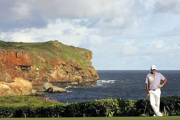 After his win at Winged Foot, Ogilvy earned a spot in the 2006 Grand Slam of Golf in Hawaii. The event was played at Poipu Bay Golf Course.