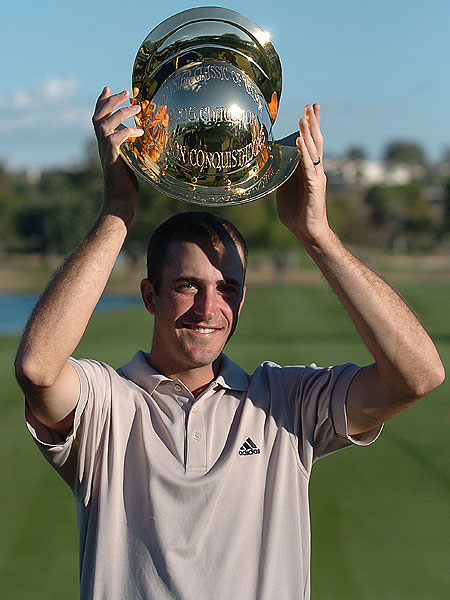 Geoff Ogilvy's Career in Photos                       A closer look into the wins and life of Australia's highest-ranked player.                                              Ogilvy's first PGA Tour win was in 2005 at the Chrysler Classic of Tucson.
