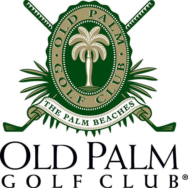 Some people see a stately logo for Old Palm Golf Club in Palm Beach Gardens, Fla. We see golf clubs dressed for a luau.