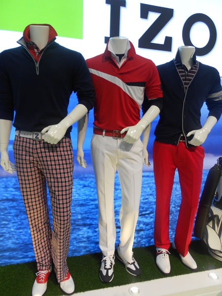 Izod's impressive new line will be worn on Tour by 2012 U.S. Open champion Webb Simpson.