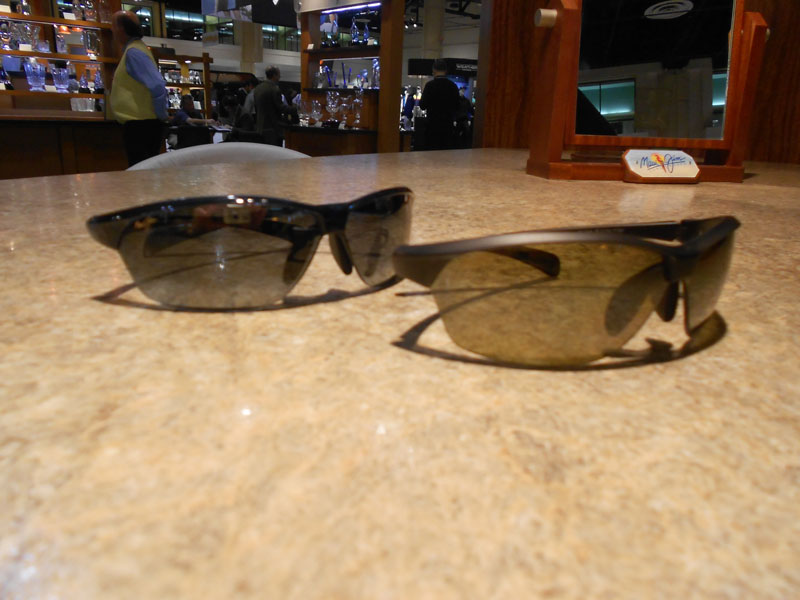 """""""Hot Sands,"""" Maui Jim's latest pair of golf specific sunglasses, will be available in March for $190."""