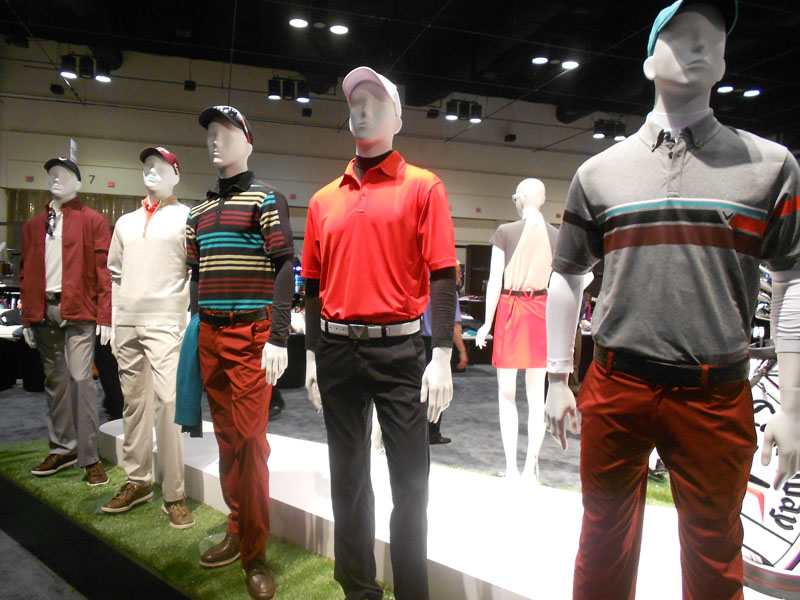 Callaway's latest collection is colorful and modern.