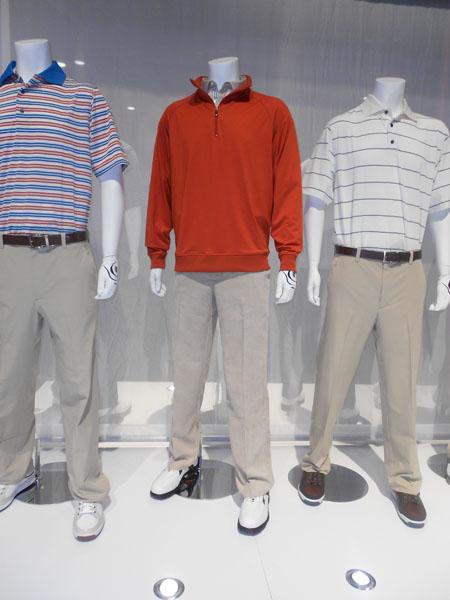 FootJoy introduced light-as-air corduroy golf pants for fall 2013.
