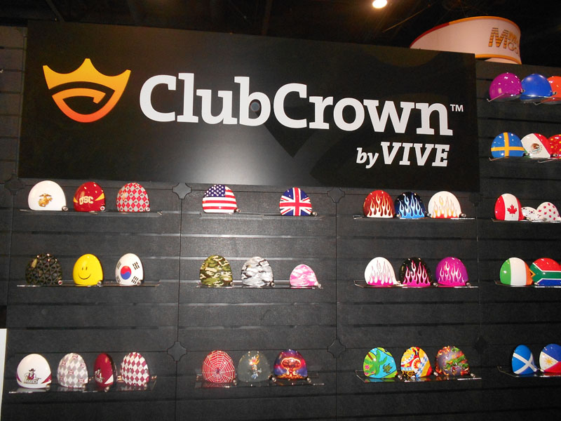ClubCrown's clubhead adhesives allow you to customize your drivers, fairway woods and hybrids with more than 300 design options.