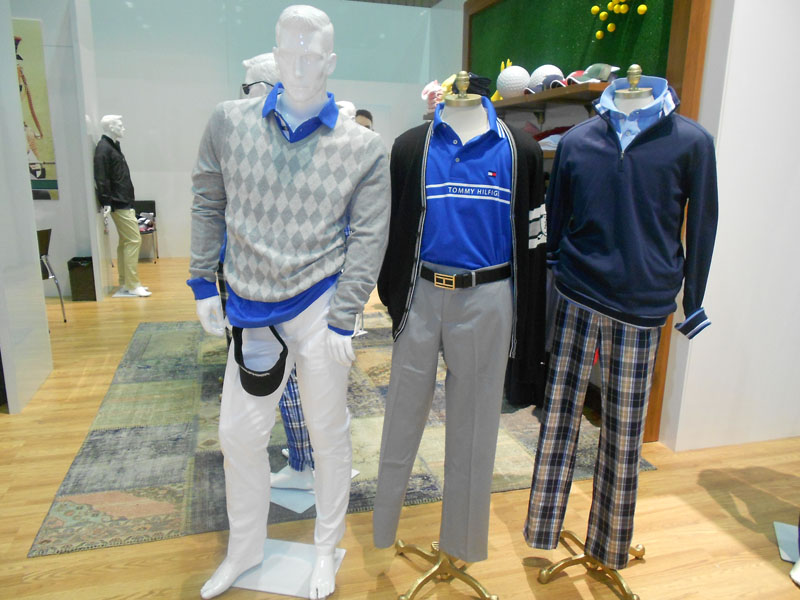 Tommy Hilfiger, Keegan Bradley's apparel sponsor, showcased a beautiful fall line.