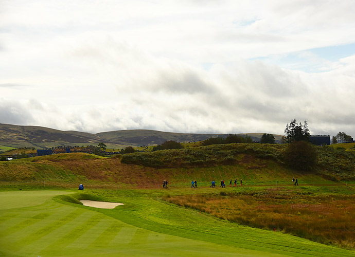 A view of the PGA Centenary Course at Gleneagles.