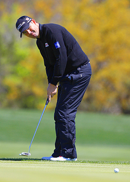 Harrington has not won since taking his third major at the 2008 PGA Championship.
