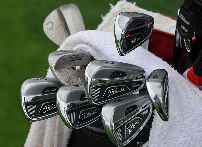 Patrick Cantlay, formerly the No. 1 amateur in the world, is playing his first full season as a pro with these Titleist 712 AP2 irons.