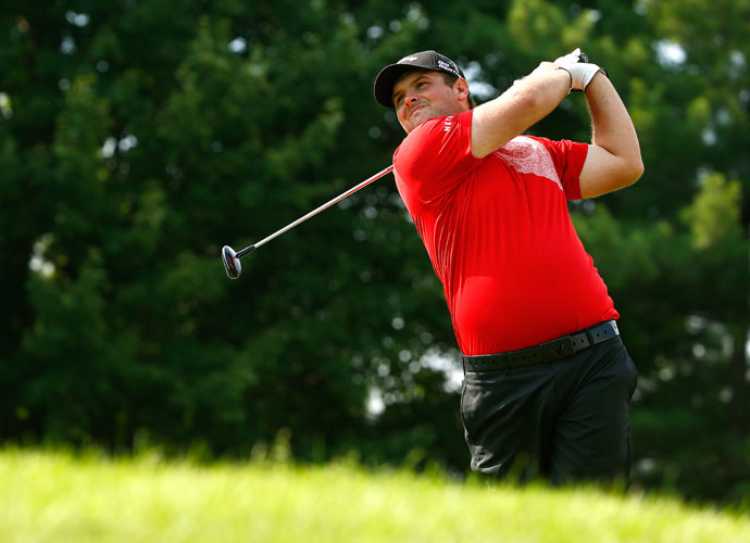 Patrick Reed kept himself in contention with a 68 in the second round.