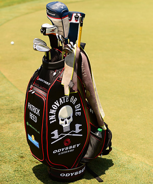 Patrick Reed plays Callaway clubs.