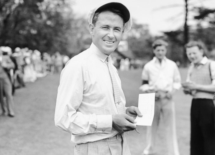 "4. Paul Runyan                            Fellow players nicknamed the diminutive Runyan ""Little Poison"" because he killed them around the greens. Born in Hot Springs, Arkansas, Runyan won 29 times on the PGA Tour, including the 1934 and 1938 PGA Championship. ""I don't think anybody ever got more out of his short game than Paul Runyan,"" Sam Snead said. ""He could get the ball up and down out of a manhole."" He was also a pioneering instructor and the author of"