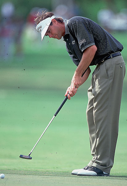 "2000                                  The belly putter made a wildly successful debut as Paul Azinger, its creator, wielded a hot putter en route to a seven-shot victory in the Hawaiian Open. ""I was thinking, this is just magic,"" Azinger recalled."