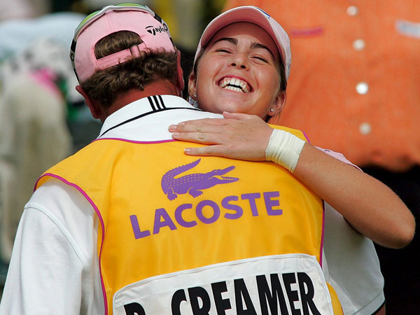 Creamer's second win came at the 2005 Evian Masters in France.