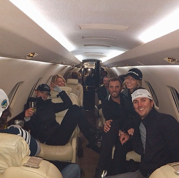 Off To Vegas @djohnsonpga