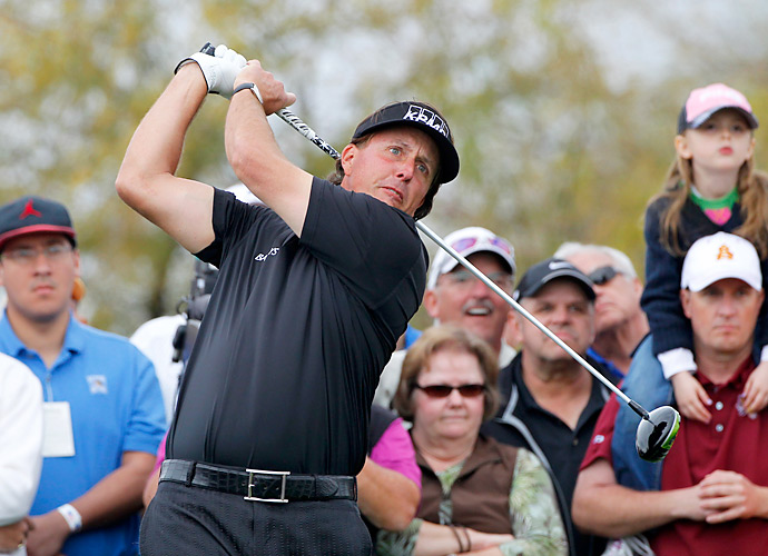 Tournament: Phoenix Open                             Champion: Phil Mickelson                             Driver: Callaway RAZR Fit Xtreme
