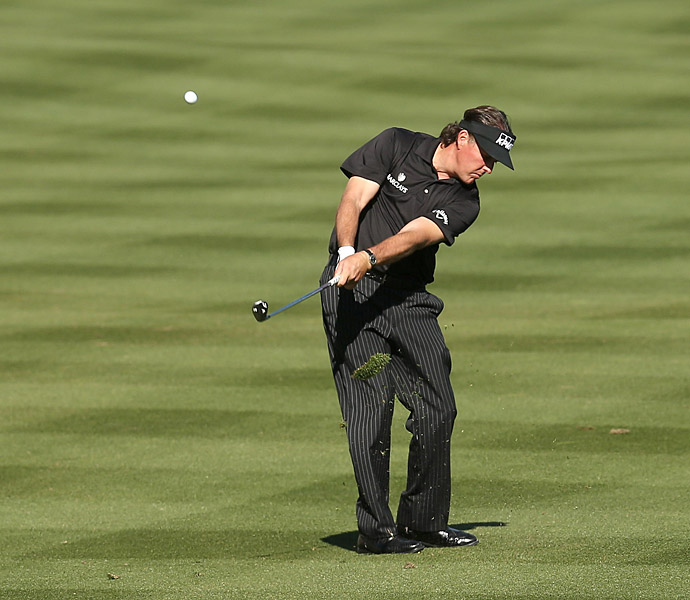 Phil Mickelson's first event of 2013 was the Humana Challenge, where he finished T37.