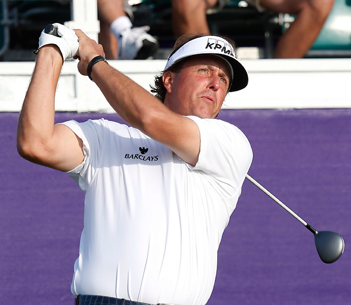 Phil Mickelson opened with a one-over 71 in the first round of the St. Jude Classic.