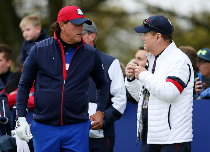 Phil Mickelson raised eyebrows around the world with his not-so-veiled criticism of Team USA Ryder Cup Captain Tom Watson.