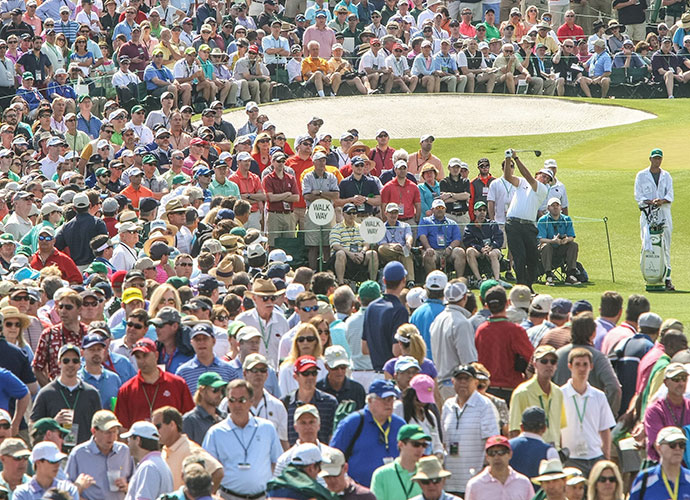 Augusta, Georgia                           Masters fans aren't even called fans -- they are patrons -- and they're among the most privileged, well-behaved, most knowledgeable galleries in golf. Patrons set their chairs down behind a green and etiquette mandates that they remain in place, untouched by others, even if their occupants have wandered elsewhere for hours. And there's nothing like an eagle roar at Augusta, reverberating in the pines.