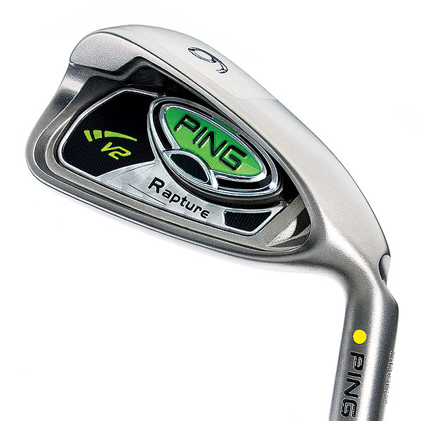 Ping Rapture V2                       $1,199, steel; $1,399, graphite                       pinggolf.com                       The major change between the original Rapture and the Rapture V2 is the weight—and location— of a dense tungsten plug. In Rapture V2, the 45- to 70-gram plug (lightest in long irons, heaviest in short) is positioned in the sole. By contrast, Rapture has a 25-gram plug in the toe area of the cavity. Performance-wise, V2 launches shots higher and provides more head stability (4 percent higher MOI) than Rapture. The higher launch, in fact, allows Ping to strengthen lofts (by 1.5°) and bolster carry distance.