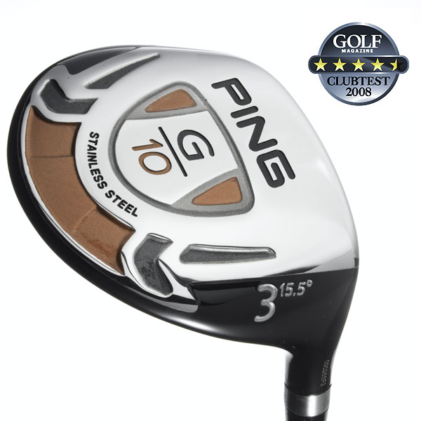 "Ping G10                           $219, graphite                            pinggolf.com                                                      We tested: 3-wood (15.5°), 4 (17°) and 7 (21.5°) in TFC 129F graphite shaft. Shaft length (3-wood): 43"", graphite                                                      Company line: ""The shallow face is longer heel to toe to increase its effective hitting area for added forgiveness and consistency. Its low leading edge and bounce angle lower the CG, which increases energy transfer and makes it easier to get under the ball.""                                                      Voted Best from the Fairway                                                      Our Test Panel Says:                            PROS: Small enough to control and work the ball either way, big enough to be forgiving and strong; effortlessly glides through turf; a nice spring effect at impact; excellent workers from rough; a good, hard-driving ball flight; beautiful bronze shaft and moon-shaped alignment aid.                                                       CONS: Misses can feel somewhat similar across the face; lower trajectory will limit its carry distance; seems to respond better to a vertical swing than a sweeping motion off the tee.                                                       ""Center strikes deliver a great response."" — Alan Dante (12)                                                      Rate and Review this club"