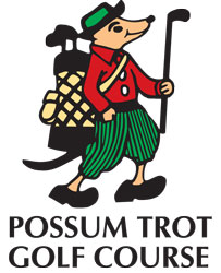 Other animal logos look like they were sketched during arts-and-crafts hour. Here's looking at you, Possum Trot Golf Course in North Myrtle Beach. S.C.