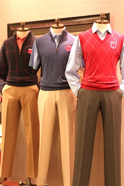 These ensembles will be worn by the Americans on the days leading up to Friday's opening match.