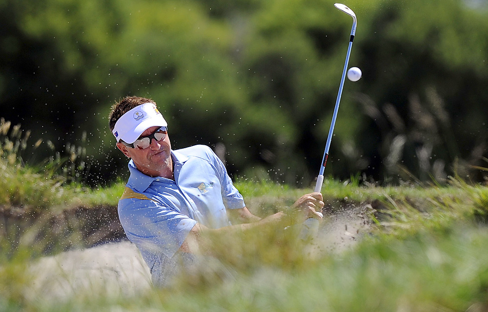 Robert Allenby has an 8-13-3 record in five previous Presidents Cups.