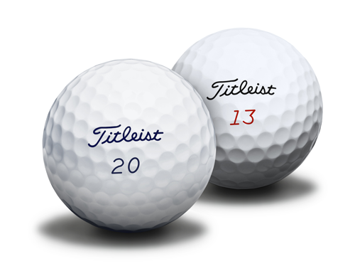 Titleist ProV1 and ProV1x, $48 (dozen); titleist.com                       Not only can you place a special order for both single and double digit golf balls from Titleist, but personalization charges (up to three lines of block text, 17 characters per line, in black, blue, green, red or pink ink) will be waived through December 31, 2013.