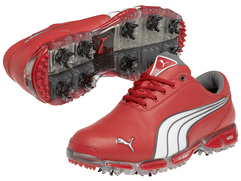 Puma Super Cell Fusion Ice LE ($250, puma.com | Buy at Shop.Golf.com)                           Color Dad wild. These Puma Super Cell Fusion Ice Limited Edition shoes are versions of what Rickie Fowler wears on Tour. They are also available in: silver, blue plaid, black plaid and purple.