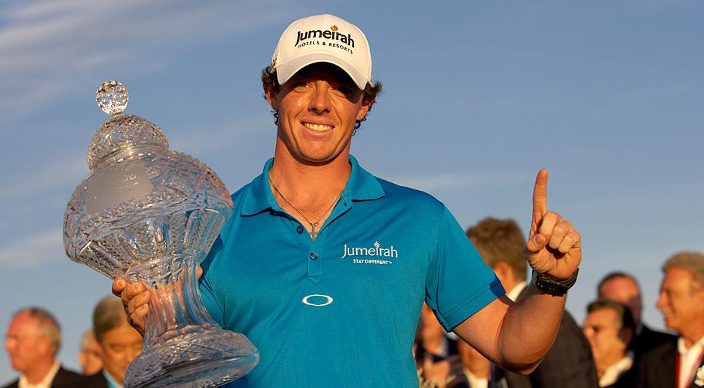 McIlroy fended off Tiger Woods at the Honda Classic in March for his first win of the season. He also took over the No. 1 ranking for the first time in his career.