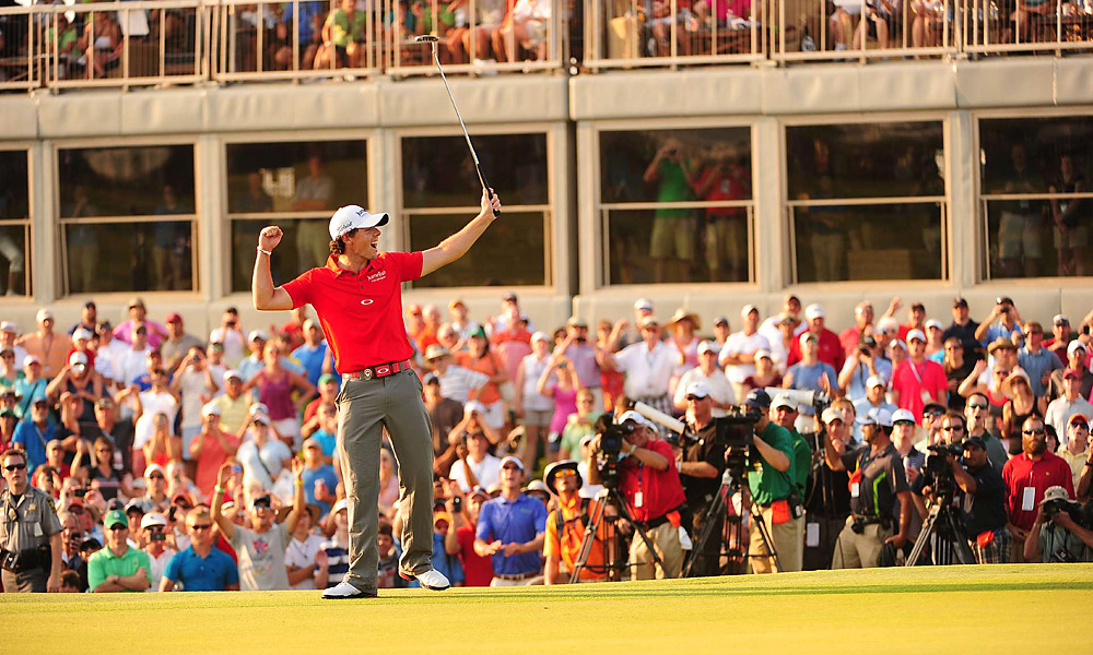 McIlroy put his struggles at the majors behind him at the PGA Championship at Kiawah Island. He won by eight shots for his second career major title.