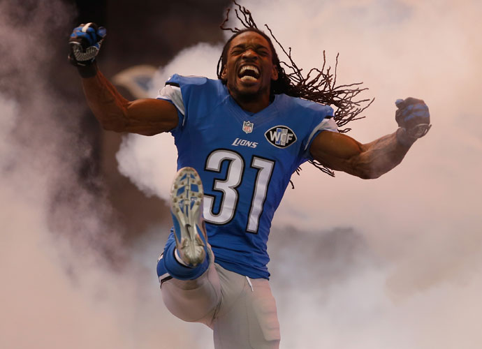 """I would love to be his caddie on the golf course. That's a dream.""                           -- Detroit Lions cornerback Rashean Mathis on steering his son away from the gridiron and onto the golf course."