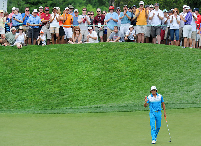 Fowler would have finished at two under if not for a double bogey at the par-4 14th hole.