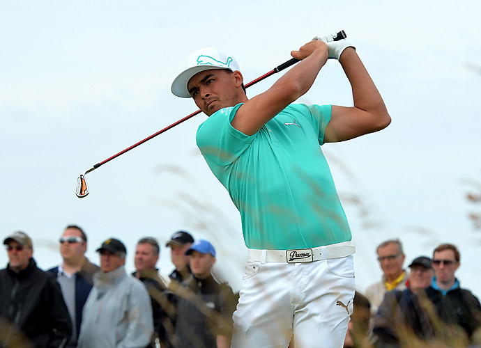 Rickie Fowler matched McIlroy's 68.