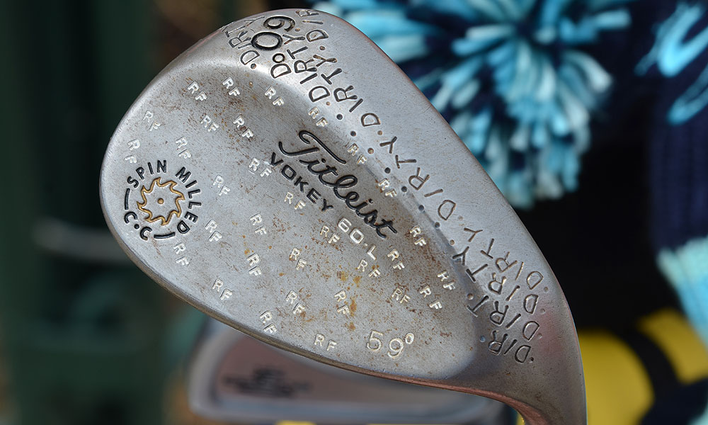 "Folwer's lob wedge is especially ""Dirty."""