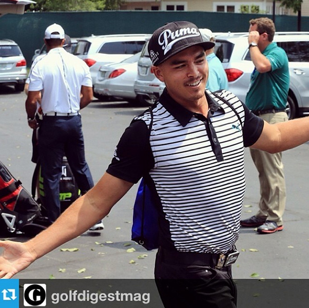 @therealrickiefowler Hey Tiger welcome to the @PGAchampionship