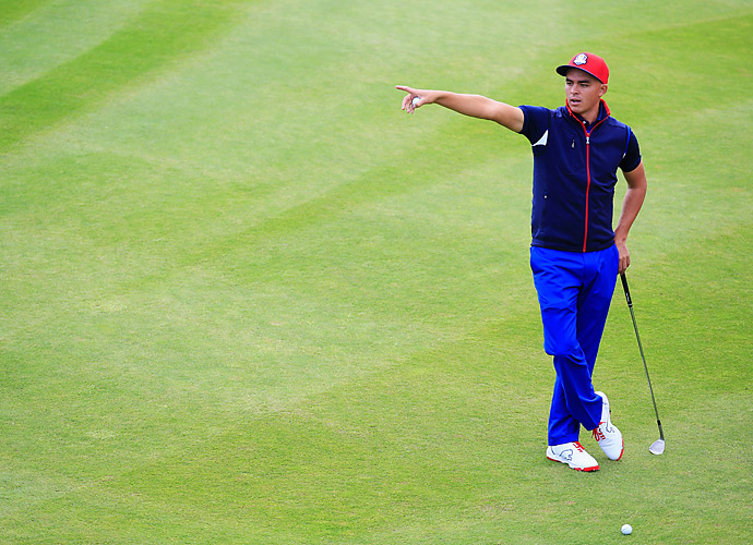 Rickie Fowler has had one of the best seasons on the U.S. team. He is one of four American players in the top 10 of the official world golf rankings.
