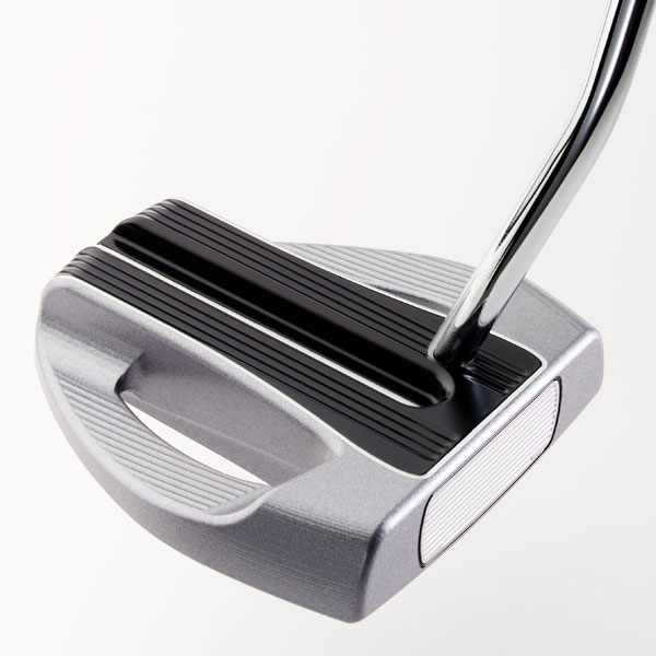"$149                       rifeputters.com                         Guerin Rife, Founder and Chief Designer:  ""I began to move weight to the middle of the head in the stainless steel Two Bar Hybrid, to create 'ramrod' stability behind the ball. Now I want to take it to the next level. Using lightweight aluminum, I can make a big head with more weight in the middle because the hollow sides get lighter. The Two Bar Hybrid has 70-percent of its weight in the middle while IMO has 85-percent. Now, we're pushing the concept to its limit.""                                               How it works: The aptly named ""IMO"" (for inline momentum) practically swings itself because so much mass is packed into the center section. Rife's approach puts weight where most golfers strike putts (within 5/8"" of the center). IMO has a face-balanced head with 2-degrees loft, milled face, excellent visual alignment aid and adjustable lie angle. The IMO should benefit those of you who decelerate on putts. Unlike previous Rife putters, the IMO has no removable back weights."