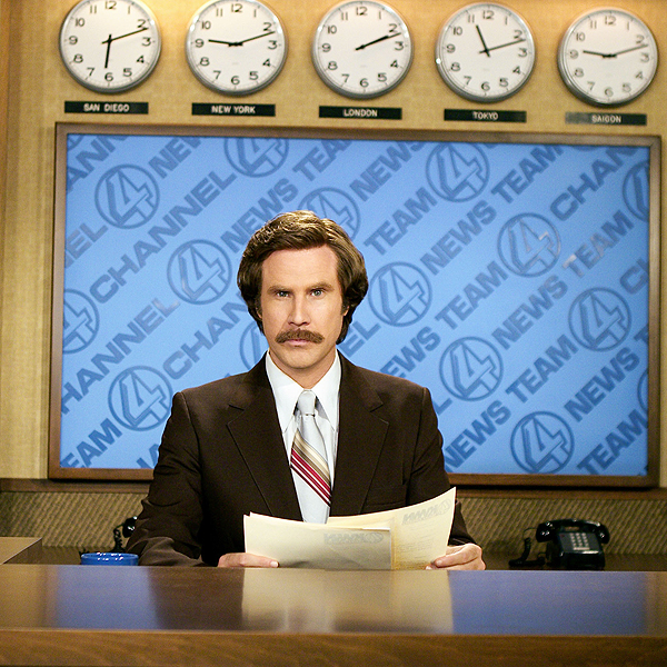 "Ron Burgundy (Anchorman)                           ""A lot of sexual harassment issues with the cart girls, who would not be safe. But he would tell great stories in the clubhouse over many scotches."""